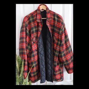 Vintage Dickies Flannel Coat
